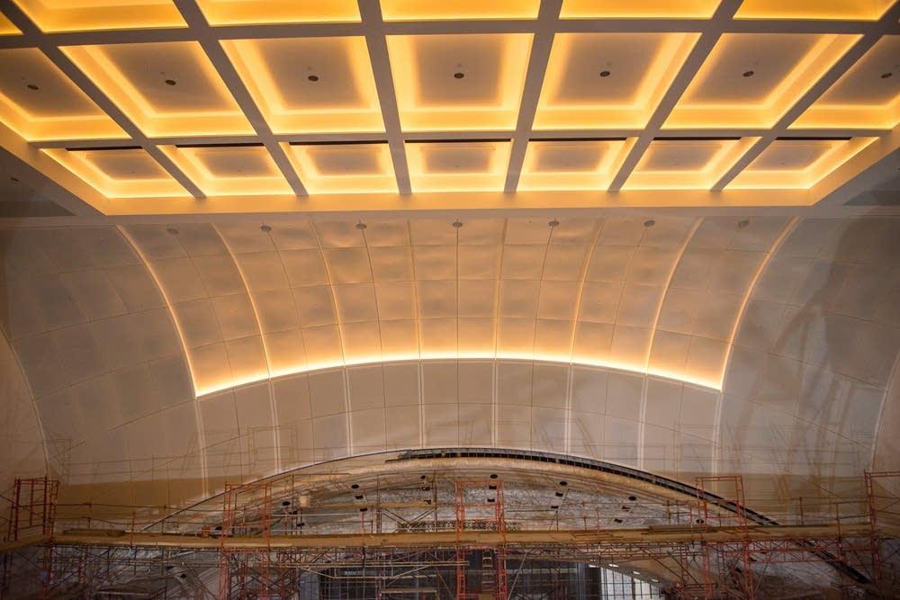 Northrop Auditorium ceiling