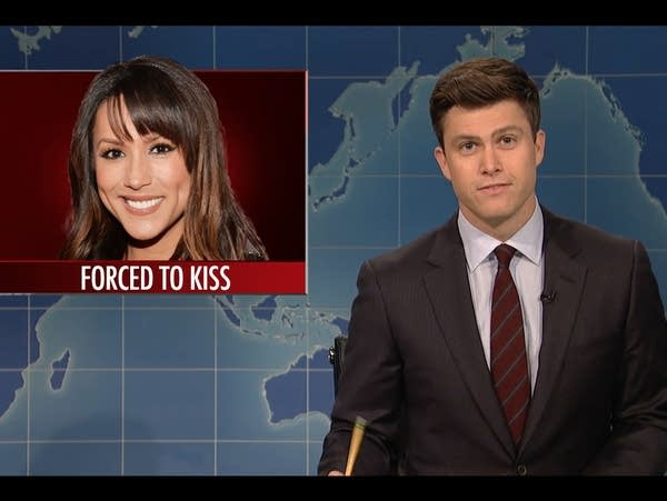 'Saturday Night Live''s Weekend Update co-anchor Colin Jost