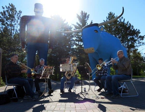 Minnesota Orchestra brass quintet in Bemidji.