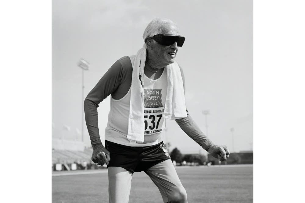 Champion Goldy, 90, track and field