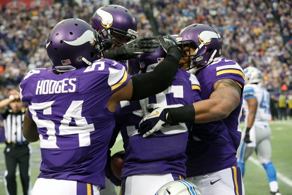 Vikings celebrate