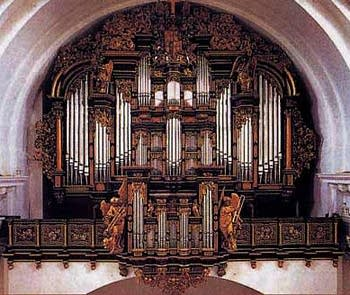 1996 Rieger organ at Fuldaer Dom, Fulda, Germany