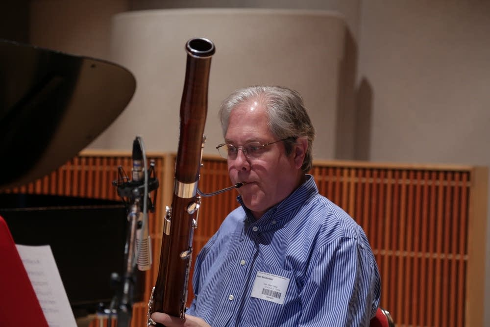 Musical Offering bassoonist Norbert Nielubowski