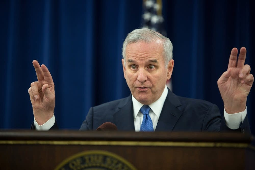 Gov. Dayton discusses 2015 legislative session