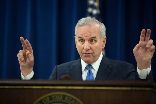 Gov. Dayton discusses 2015 legislative session