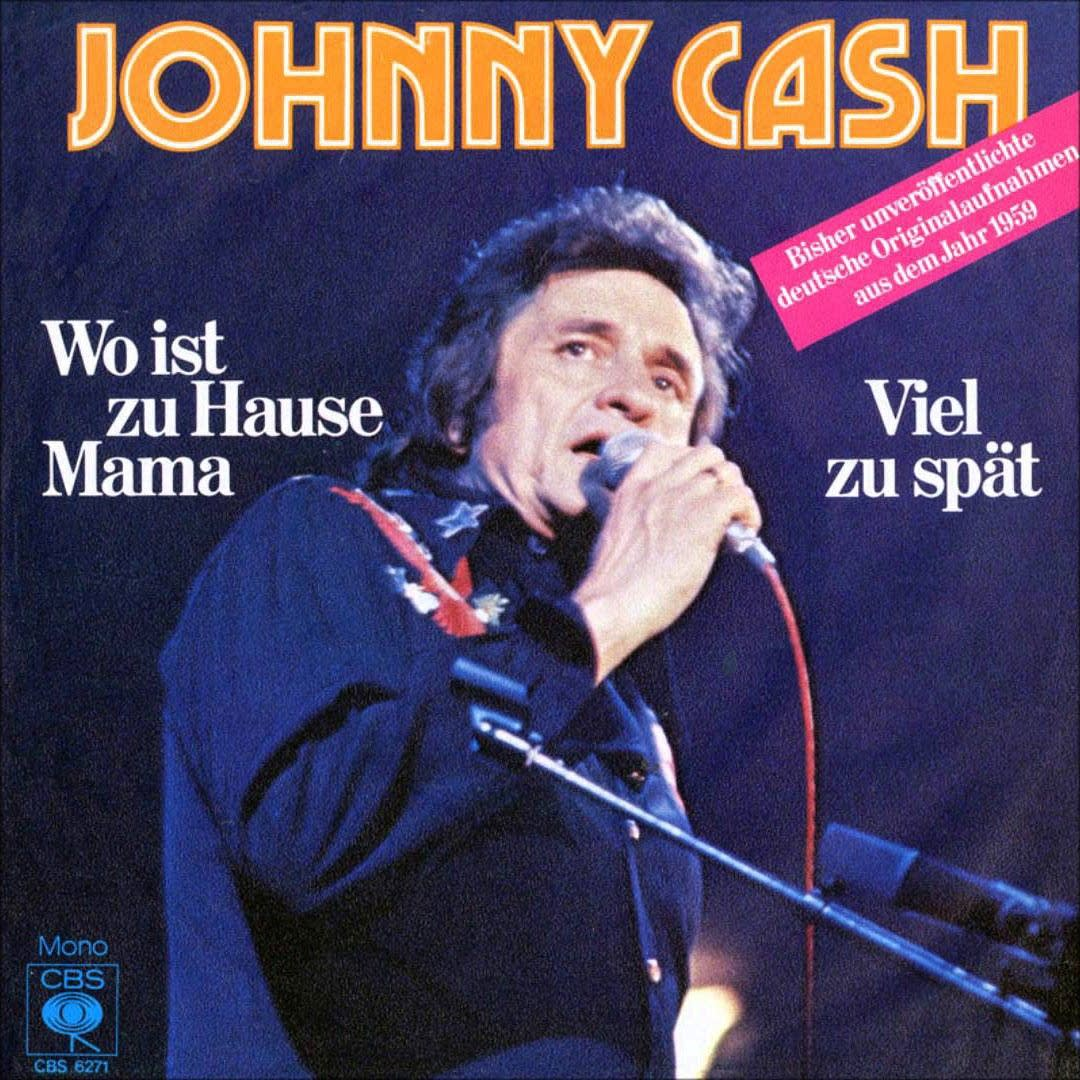 Johnny Cash's German-language tracks 45