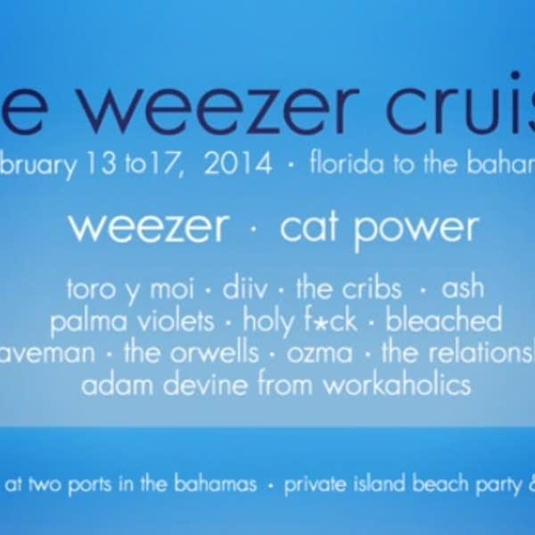 Weezer Cruise