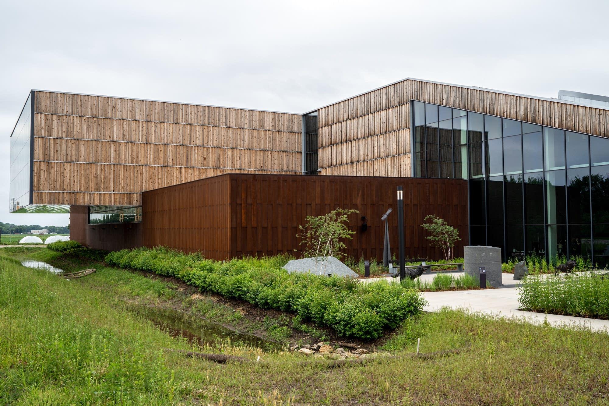 The University of Minnesota's new Bell Museum.