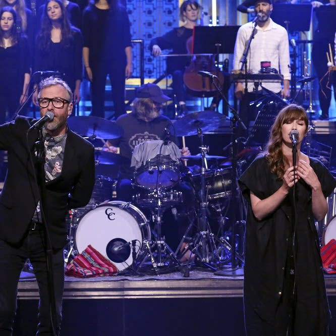 The National perform on 'The Tonight Show Starring Jimmy Fallon'