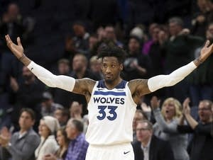 Minnesota Timberwolves' Robert Covington