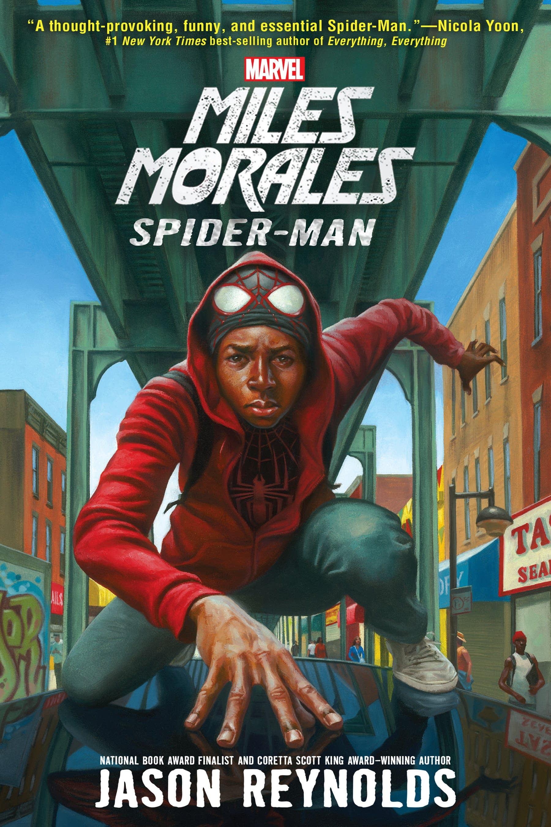 'Miles Morales: Spiderman' by Jason Reynolds