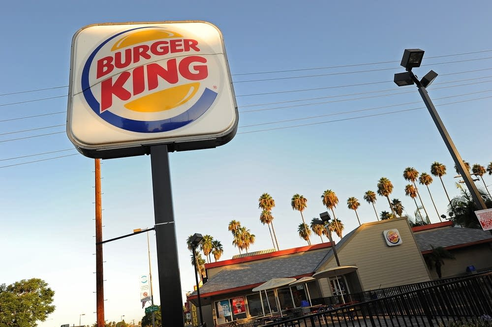 A Burger King restaurant