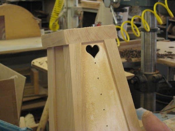 Heart on a harp