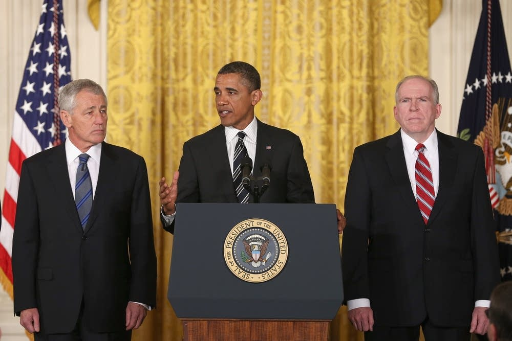 Obama, Hagel, Brennan