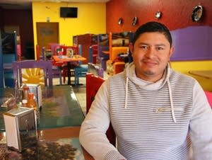 Juan Chavez runs Taqueria Chavez in Long Prairie.