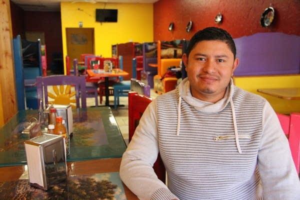Juan Chavez runs Taqueria Chavez in Long Prairie.