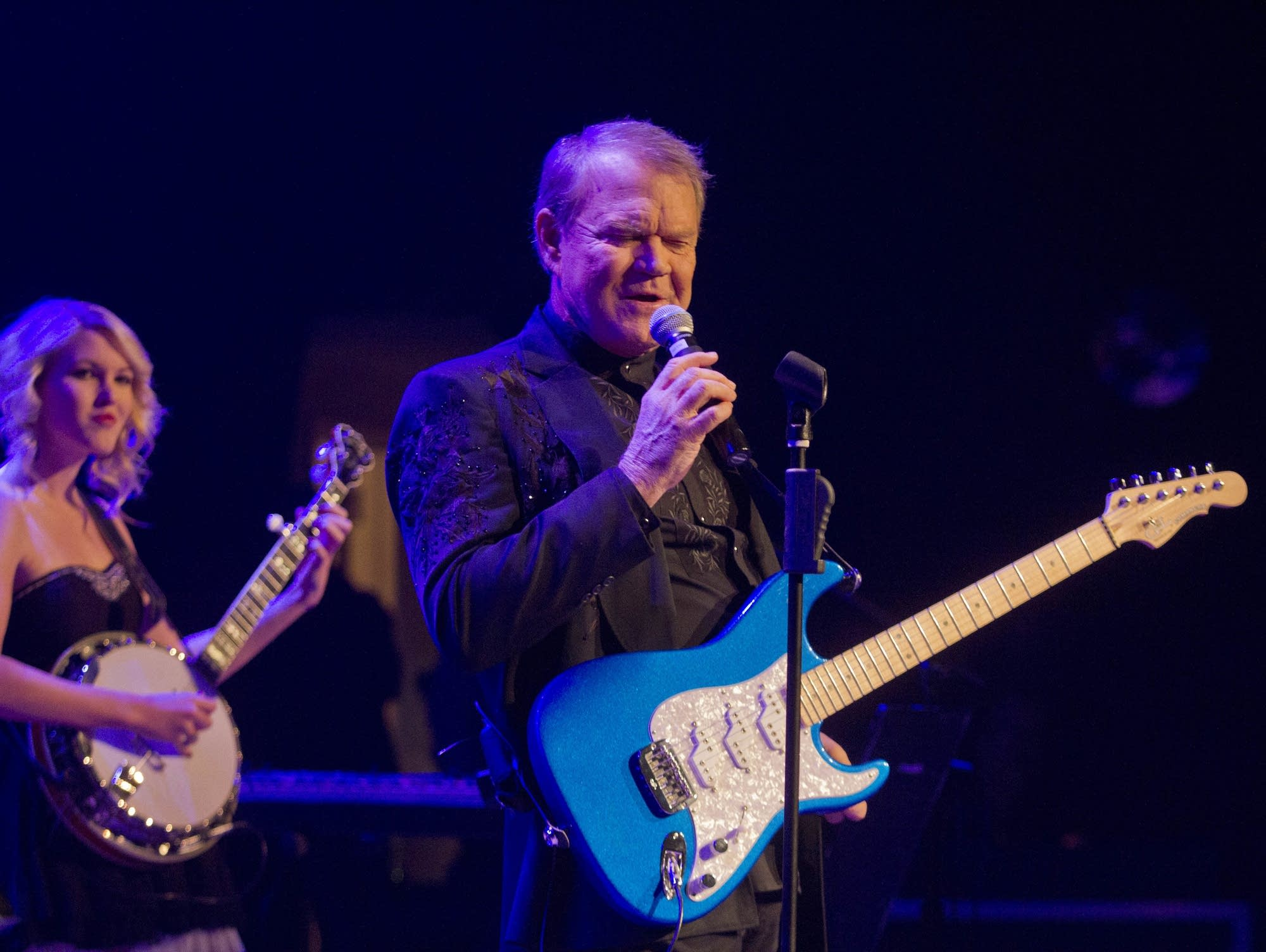 Glen Campbell performs in Nashville in 2012.