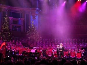 Bloodwise Christmas concert at Royal Albert Hall
