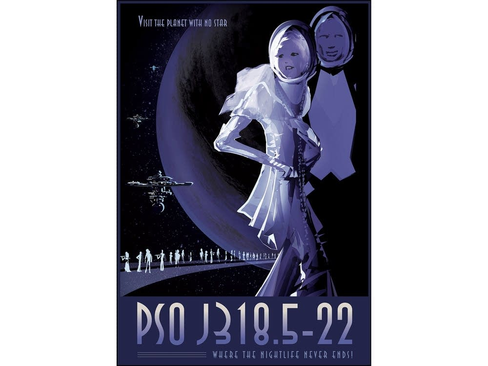 PSO J318.5-22: Where the nightlife never ends