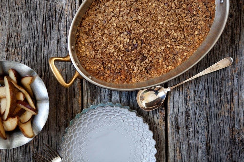 Chai baked oatmeal