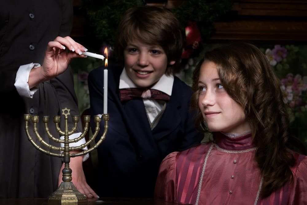 Young actors in 'A Servants' Christmas'