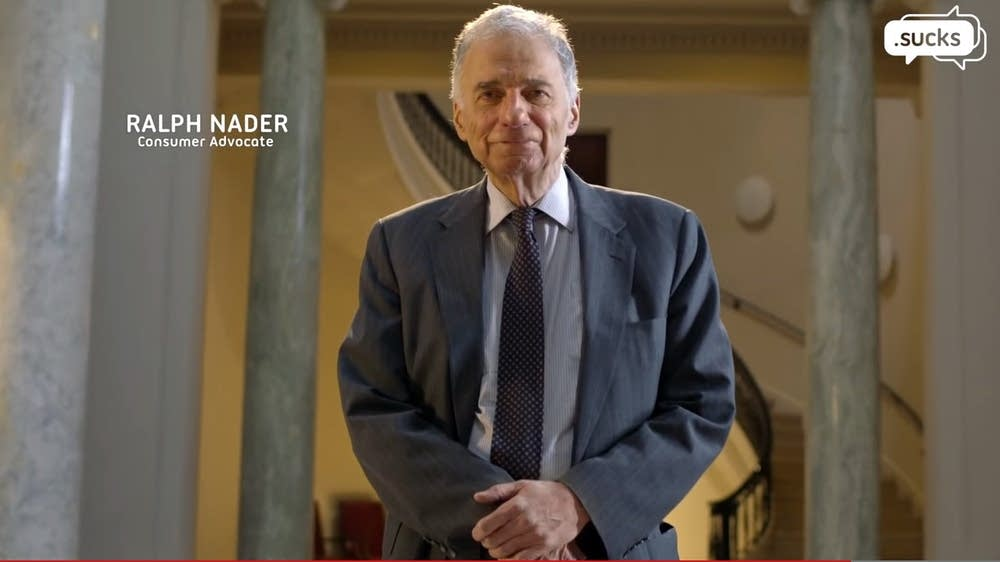 Promotional video highlights Ralph Nader
