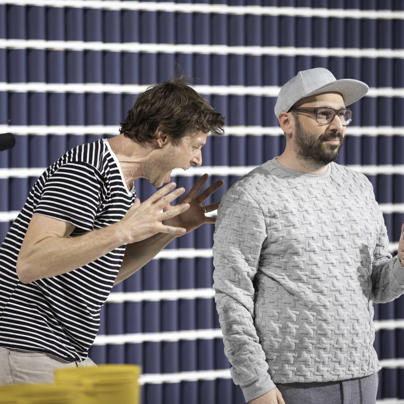 Damian Kulash and Tim Nordwind of OK Go