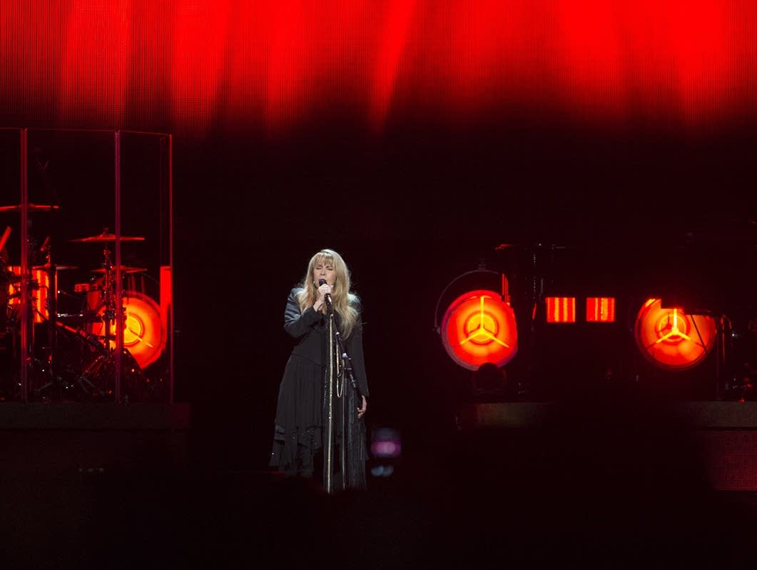 Stevie Nicks performs at the Xcel Energy Center.