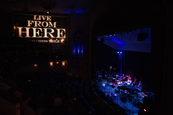 Live from Here with Chris Thile, live from NYC.