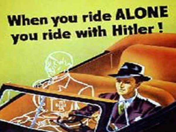 Hitler rides shotgun