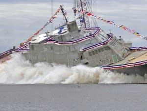 The future USS Minneapolis-Saint Paul