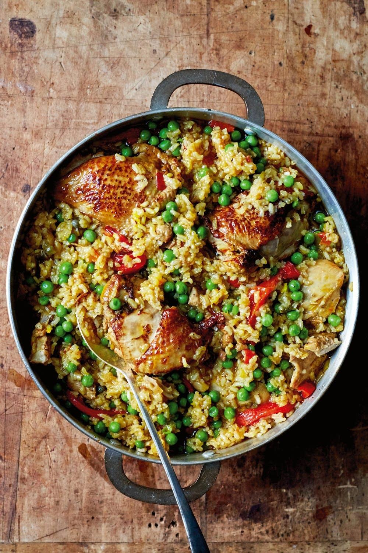 Arroz con Pollo a la Chorrera (Chicken and Rice)