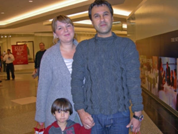 Sasa Draskovic loves shopping  Minneapolis