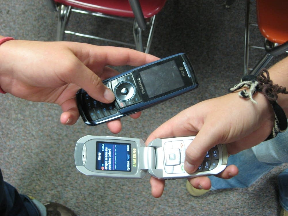 Cell phones a go-go