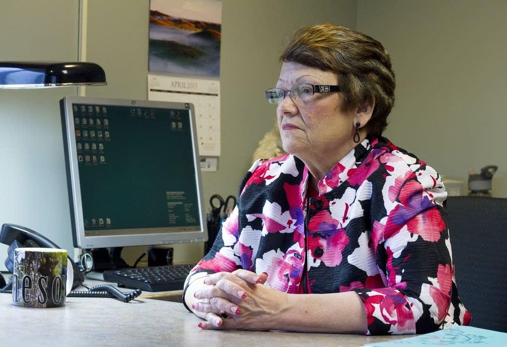 Paula Lewis, administrator, St. Isidore