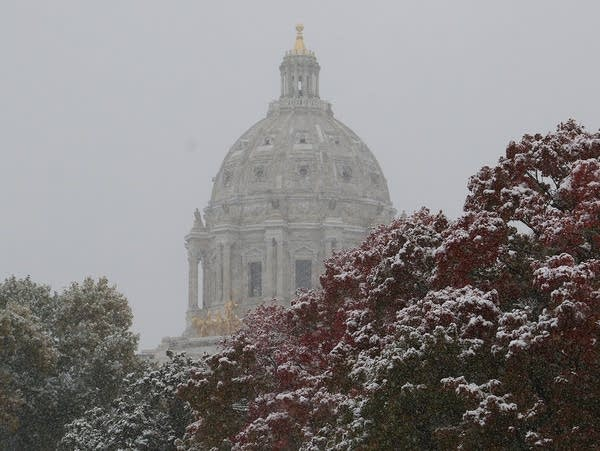 The Minnesota Capitol dome