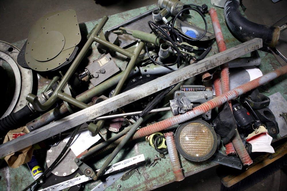 Huey parts