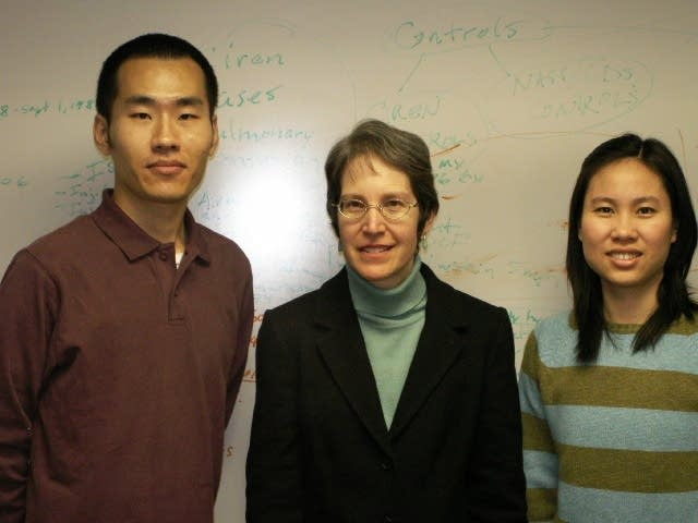 Dr. Elisa Braver and students