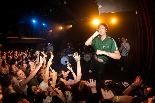 Hippo Campus perform at the Fine Line