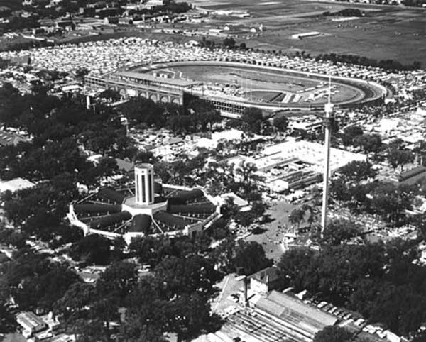 Ariel view of the Minnesota State Fair