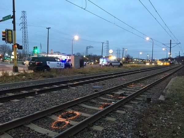 Blue Line accident