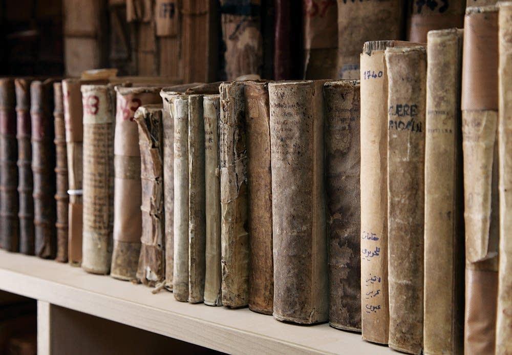 Rescued books