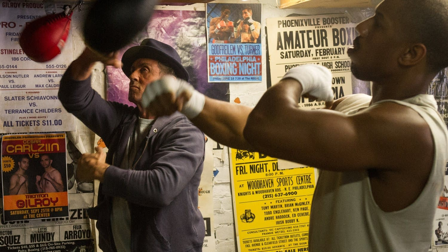 Stylvester Stallone, Michael B. Jordan in 'Creed'
