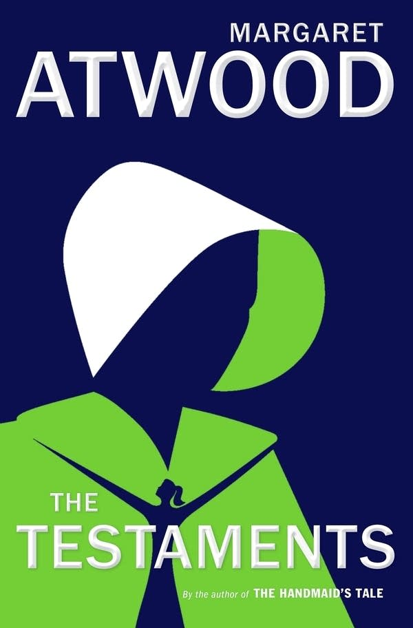 "The cover image for ""The Testaments,"" by Margaret Atwood."