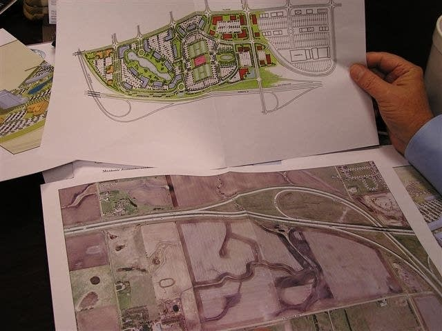 The plans for a research park