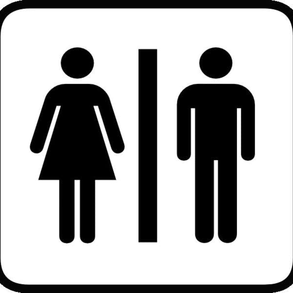 Boy Girl Restroom