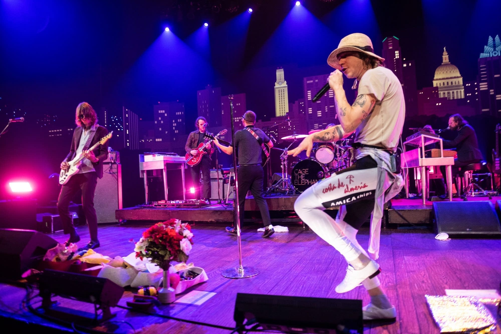 Cage The Elephant on 'Austin City Limits' on PBS