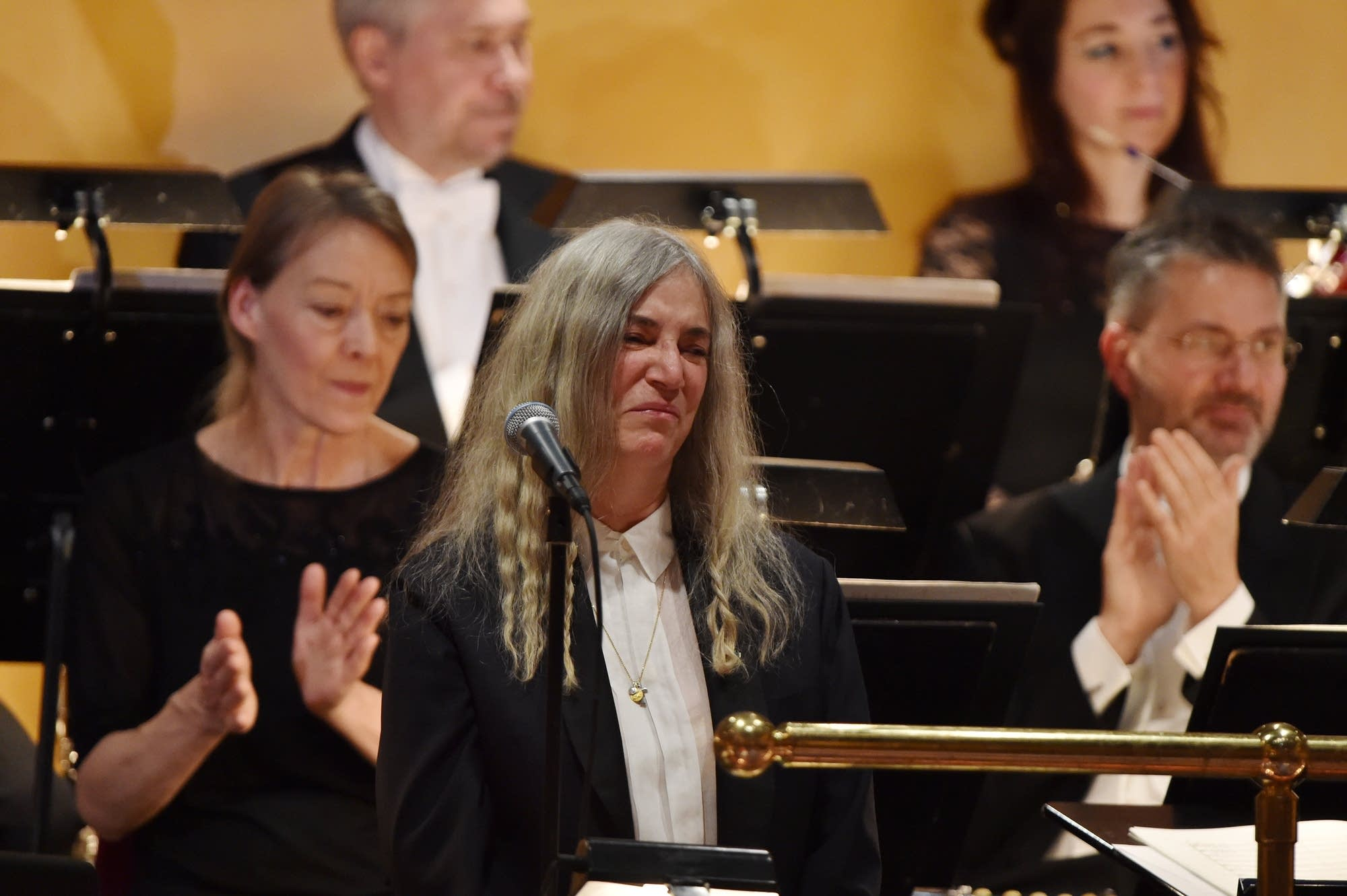 Patti Smith at the Nobel Prize Ceremony