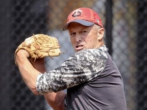 Pitcher Paul Risso, 63, of New Mexico