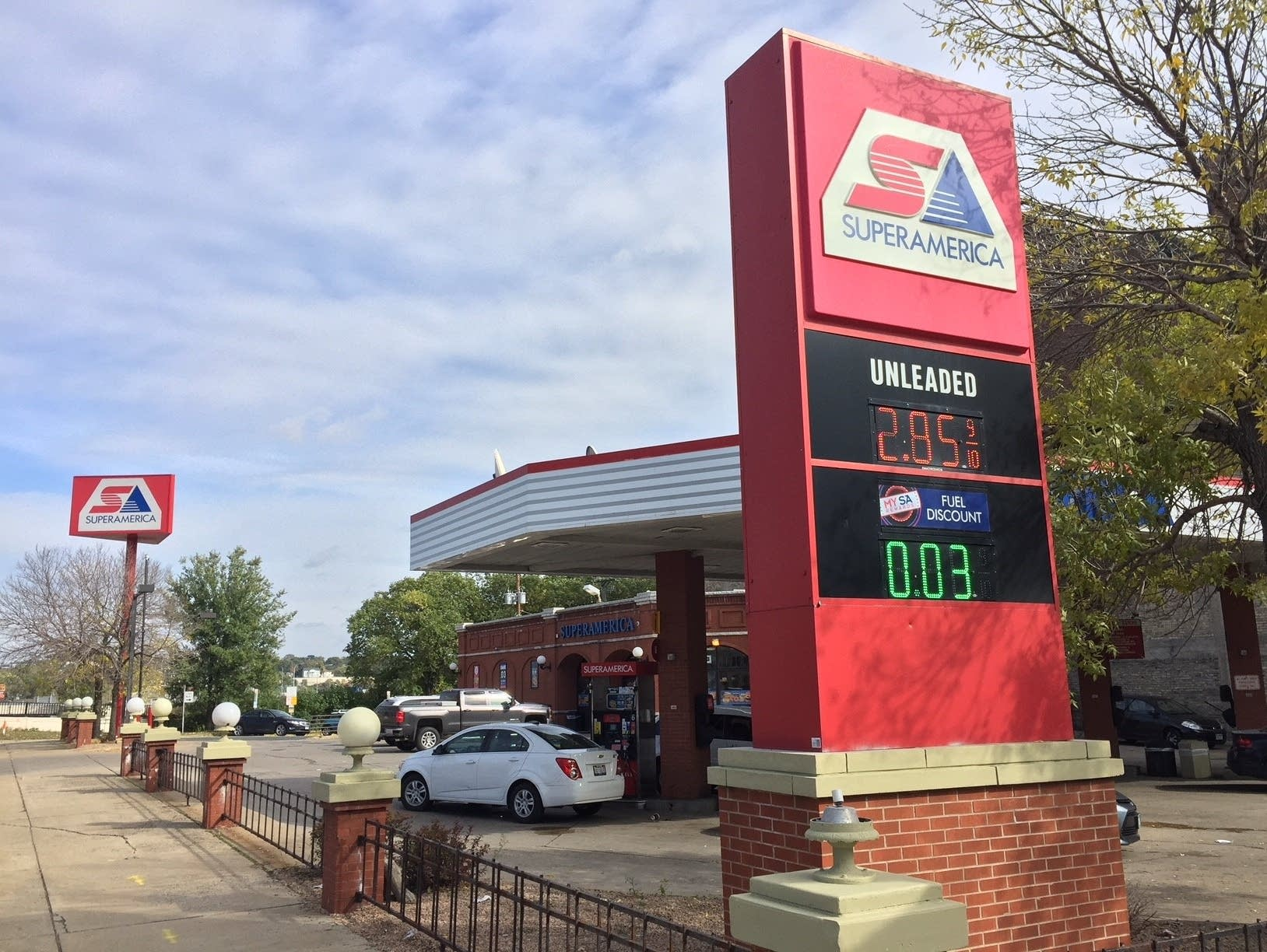 SuperAmerica gas station